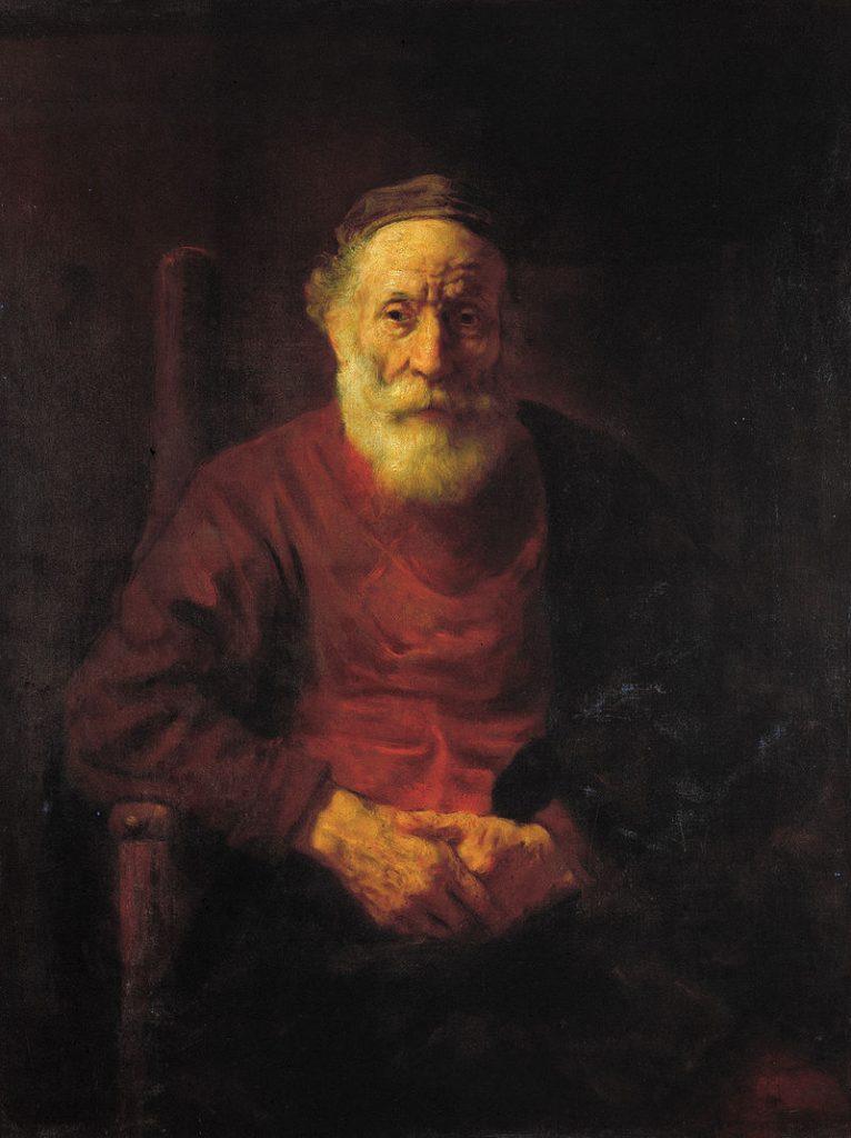 """""""Портрет старика в красном"""""""